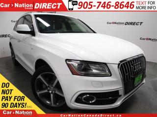 Used 2016 Audi Q5 3.0 TDI Technik S-Line| VERY RARE| DIESEL| for sale in Burlington, ON