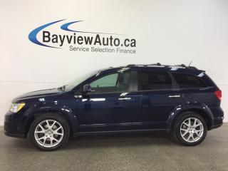 Used 2017 Dodge Journey GT- AWD|REM STRT|ROOF|DVD|NAV|7 RIDER|HTD LTHR! for sale in Belleville, ON