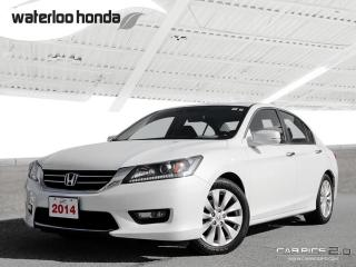 Used 2014 Honda Accord EX-L Bluetooth, Back Up Camera, Heated Seats and more! for sale in Waterloo, ON
