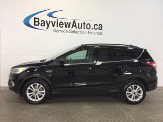 Used 2017 Ford Escape SE- 4WD|ECOBOOST|PANOROOF|HTD STS|REV CAM|SYNC! for sale in Belleville, ON