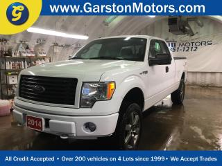 Used 2014 Ford F-150 STX*4WD*SUPER CAB*MICROSOFT SYNC*ALLOYS*TONNEAU COVER*FOG LIGHTS*FRONT TOW HOOKS*TRAILER HITCH*AM/FM/XM/CD/AUX*CLIMATE CONTROL*TRACTION CONTROL* for sale in Cambridge, ON