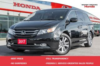 Used 2017 Honda Odyssey Touring for sale in Whitby, ON