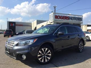 Used 2015 Subaru Outback 3.6R LTD - NAVI - LEATHER - REVERSE CAM for sale in Oakville, ON