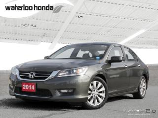 Used 2014 Honda Accord EX-L Bluetooth...100,000 km Honda Comprehensive Warranty! for sale in Waterloo, ON