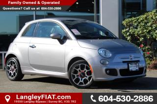 Used 2015 Fiat 500 Sport ONE OWNER, NO ACCIDENTS for sale in Surrey, BC