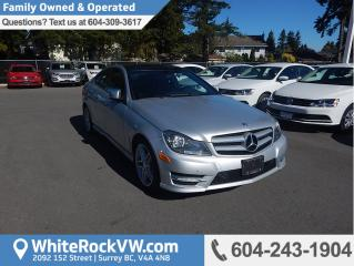 Used 2013 Mercedes-Benz C-Class Power Moonroof, Radio Data System & Mode Select Transmission for sale in Surrey, BC