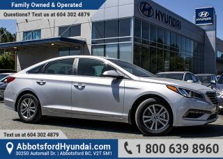 Used 2017 Hyundai Sonata GL ACCIDENT FREE for sale in Abbotsford, BC