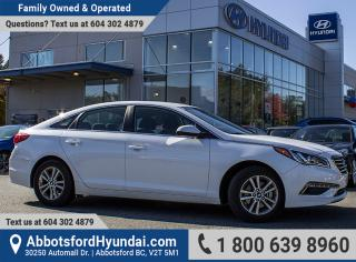 Used 2017 Hyundai Sonata GL ACCIDENT FREE & GREAT CONDITION for sale in Abbotsford, BC