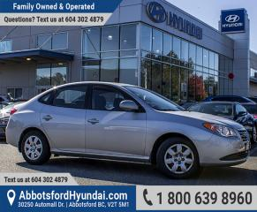 Used 2010 Hyundai Elantra L BC OWNED & ACCIDENT FREE for sale in Abbotsford, BC