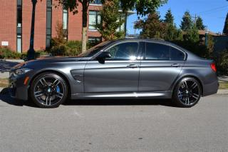 Used 2015 BMW M3 Sedan Manual for sale in Vancouver, BC