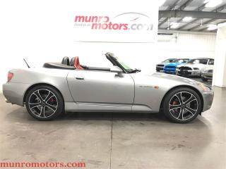Used 2001 Honda S2000 Convertible 9589 kms Invidia Exhaust Black Wheels for sale in St George Brant, ON