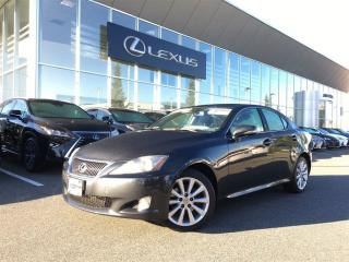 Used 2010 Lexus IS 250 AWD 6A for sale in Surrey, BC