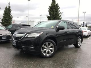 Used 2015 Acura MDX Elite Package,local one owner for sale in Surrey, BC