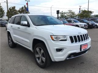 Used 2016 Jeep Grand Cherokee OVERLAND*5.7L HEMI V8*ADVANCED TECH GRP for sale in Mississauga, ON