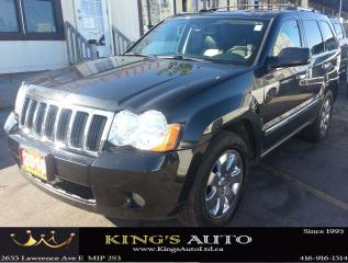 Used 2010 Jeep Grand Cherokee LIMITED SPORT, SUNROOF, LEATHER, ALLOY RIMS for sale in Scarborough, ON
