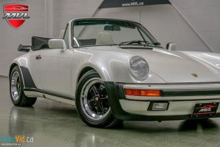 Used 1988 Porsche 911 Turbo Cabriolet for sale in Oakville, ON