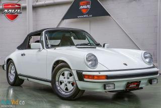 Used 1983 Porsche 911 SC Cabriolet for sale in Oakville, ON
