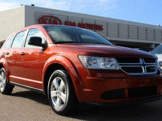 Used 2013 Dodge Journey CVP/SE PLUS, BUTTON START, AIR CONDITIONING, CRUISE CONTROL, AUX / USB for sale in Edmonton, AB