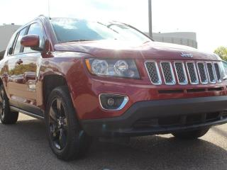 Used 2015 Jeep Compass SPORT, SUNROOF, HEATED SEATS, CRUISE CONTROL, 4 WHEEL LOCK, AUX INPUT for sale in Edmonton, AB