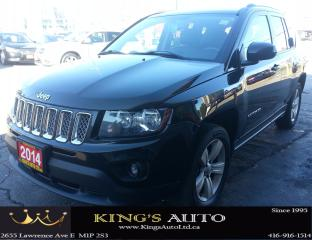 Used 2014 Jeep Compass NORTH SPORT UTILITY, 4X4, LEATHER, TRACTION for sale in Scarborough, ON
