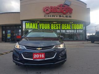 Used 2016 Chevrolet Cruze Premier LEATHER P-ROOF H-TED SEATS NAVI REAR CAMER for sale in Scarborough, ON