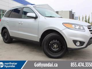 Used 2012 Hyundai Santa Fe GLS SUNROOF/LEATHER/HEATED SEATS for sale in Edmonton, AB