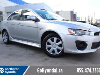 Used 2016 Mitsubishi Lancer ES HEATED SEATS/POWER OPTIONS/CRUISE for sale in Edmonton, AB