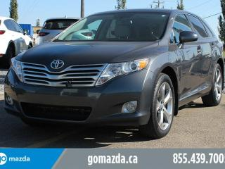 Used 2012 Toyota Venza Premium V6 AWD Leather Backup Camera 1 Owner Accident Free Local for sale in Edmonton, AB