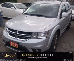 Used 2011 Dodge Journey R/T, SEVEN PASSENGERS, LEATHER, for sale in Scarborough, ON