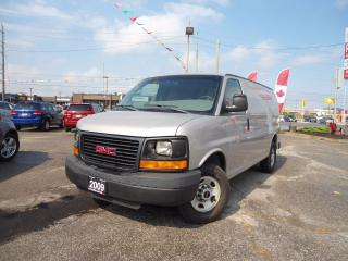 Used 2009 GMC Savana AUTO 2500 A/C LIKE NEW TIRS NO RUST LOCAL ONTARIO for sale in Oakville, ON