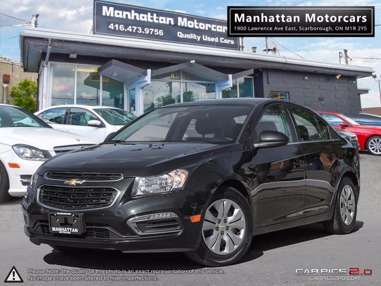 Photo of Black 2015 Chevrolet Cruze