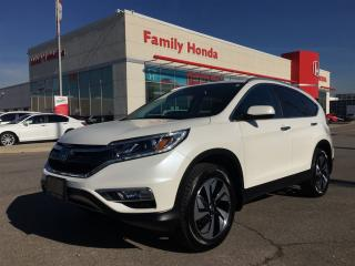 Used 2016 Honda CR-V Touring for sale in Brampton, ON