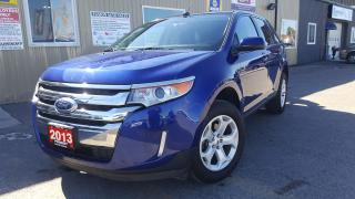 Used 2013 Ford Edge SEL-NAVIGATION-LEATHER-SUNROOF-BLUETOOTH for sale in Tilbury, ON