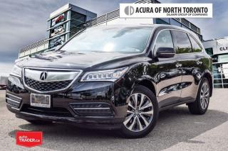 Used 2016 Acura MDX Navi No Accident  Remote Start  Bluetooth for sale in Thornhill, ON