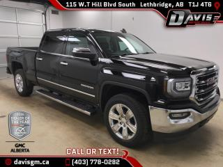 New 2018 GMC Sierra 1500 SLT-Heated/Cooled Leather,Navigation, Rear Camera for sale in Lethbridge, AB