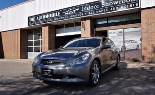 Used 2009 Infiniti G37X  S Sport AWD FULLY LOADED NAVI NO ACCIDENT for sale in Mississauga, ON
