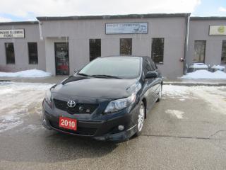Used 2010 Toyota Corolla S,LEATHER,SUNROOF,HEATED SEATS for sale in Burlington, ON