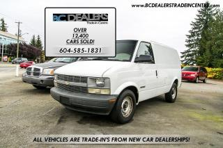 Used 2000 Chevrolet Astro Cargo Van for sale in Surrey, BC