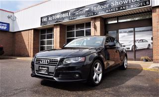 Used 2011 Audi A4 2.0T PREMIUM QUATTRO NO ACCIDENT for sale in Mississauga, ON