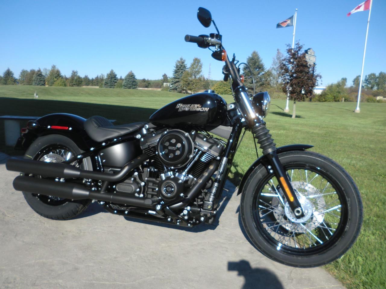 New 2018 Harley Davidson Softail Fxbb Street Bob For Sale