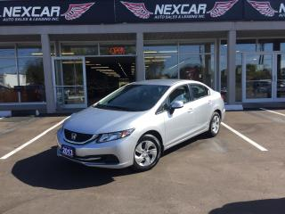 Used 2013 Honda Civic LX AUTO A/C CRUISE CONTROL ONLY 66K for sale in North York, ON