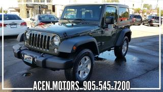 Used 2015 Jeep Wrangler SPORT for sale in Hamilton, ON