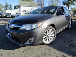 Used 2012 Toyota Camry XLE Hybrid Loaded for sale in St Catharines, ON