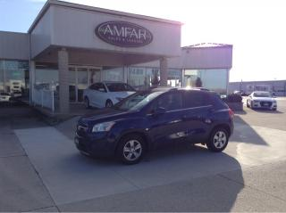 Used 2014 Chevrolet Trax LT / NO PAYMENTS FOR 6 MONTHS !! for sale in Tilbury, ON