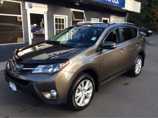 Used 2015 Toyota RAV4 LIMITED  for sale in Parksville, BC