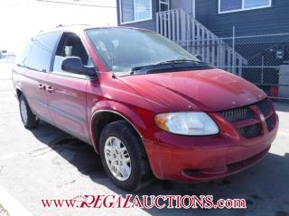Used 2003 Dodge GRAND CARAVAN SPORT FWD WAGON for sale in Calgary, AB
