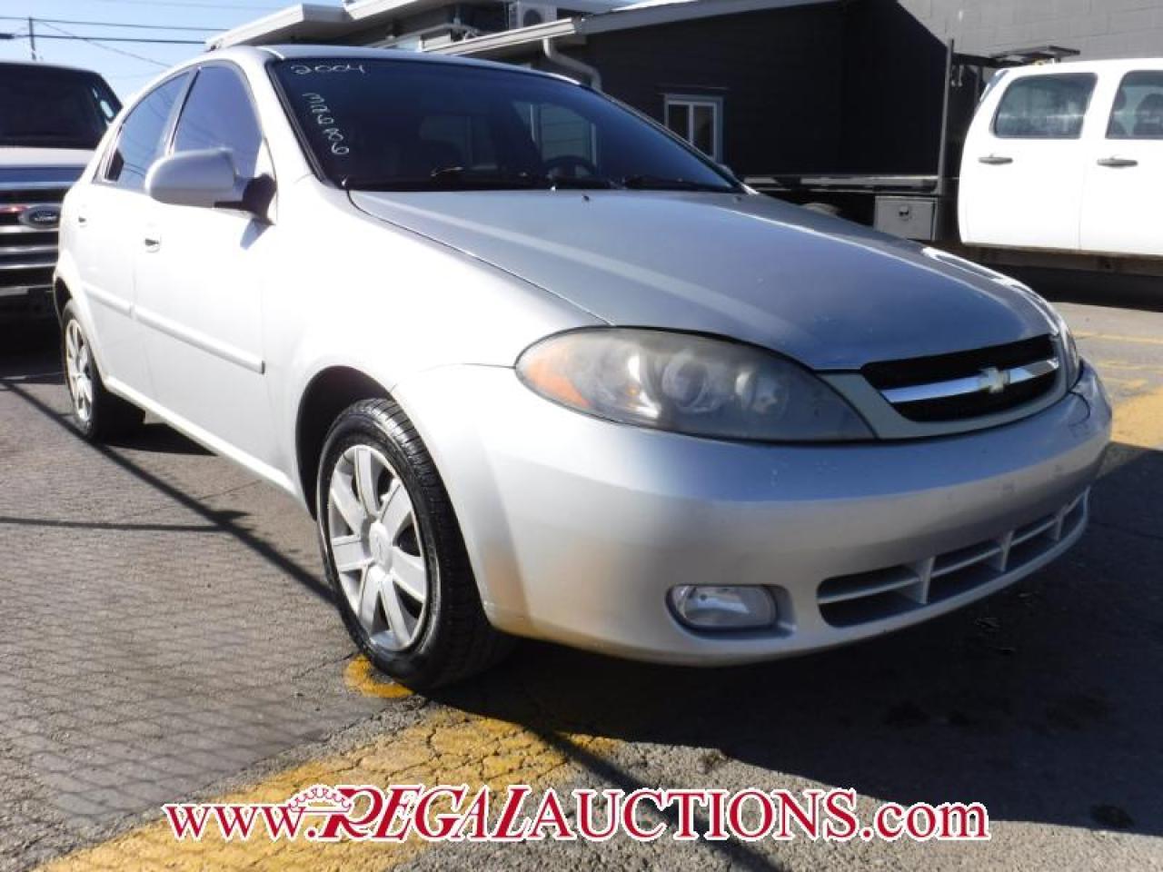Photo of Silver 2004 Chevrolet OPTRA LS 4D HATCHBACK
