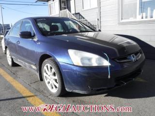 Used 2003 Honda Accord LX-G 4D Sedan for sale in Calgary, AB