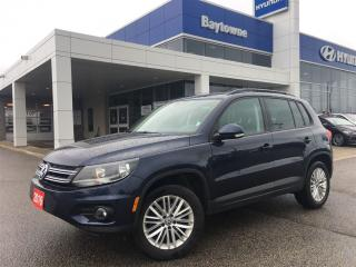 Used 2016 Volkswagen Tiguan Special Edition 2.0T 6sp at w/Tip 4M for sale in Barrie, ON