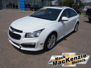 Used 2015 Chevrolet Cruze LTZ for sale in Renfrew, ON